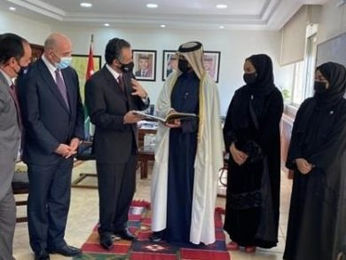 Photo of وزير السياحة والآثار الأردني يجتمع مع سفير دولة قطر