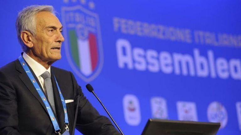 Photo of جرافينا رئيسًا للاتحاد الإيطالي