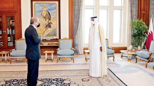 Photo of صاحب السمو يعزز العلاقات القطرية الأردنية