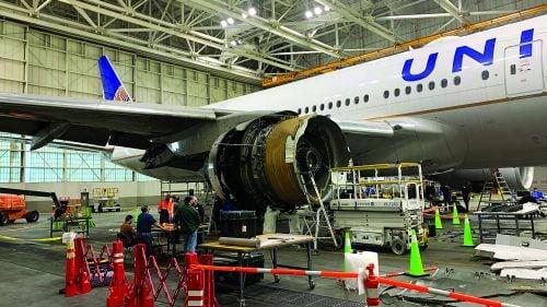 Photo of فحص فوري لمحركات بوينج 777