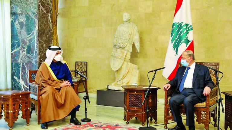 Photo of ميشال عون : نقدر الدعم القطري للبنان خلال الظروف الصعبة