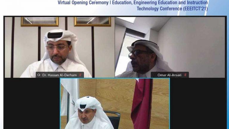 Photo of جامعة قطر تطلق مؤتمرا دوليا افتراضيا حول التربية وتكنولوجيا التعليم