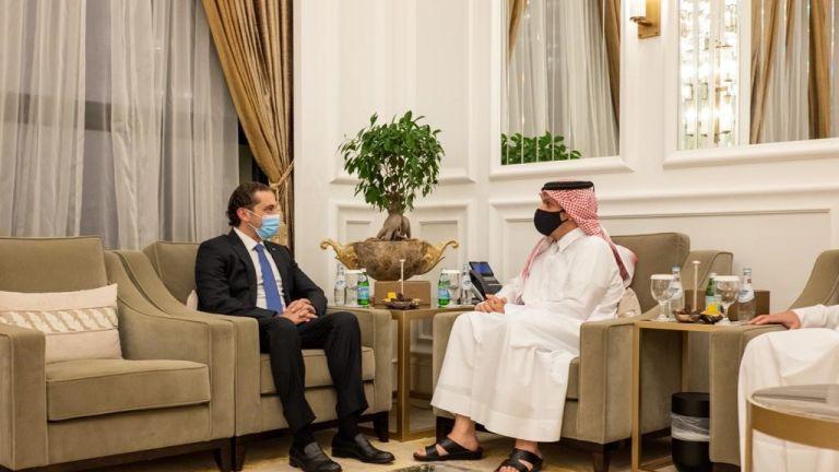 Photo of نائب رئيس مجلس الوزراء وزير الخارجية يجتمع مع رئيس الحكومة اللبنانية المكلف