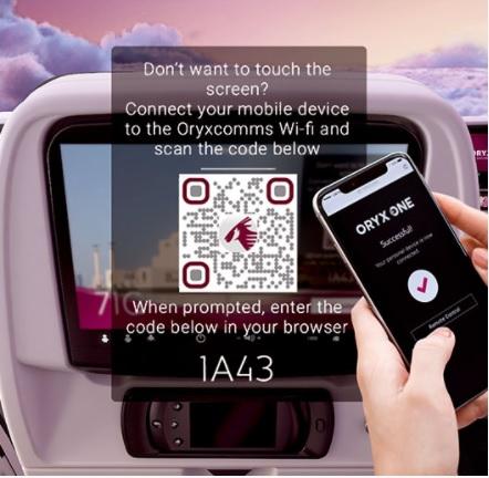 Photo of الخطوط الجوية القطرية ستصبح أول شركة طيران في العالم تقدم لمسافريها تجربة خالية من التلامس عند استخدام النظام الترفيهي