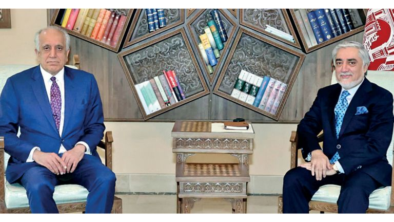 Photo of زلماي زاد للقادة الأفغان: واشنطن متمسكة باتفاق الدوحة