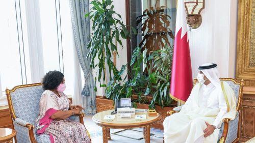 Photo of رئيس مجلس الوزراء يستقبل وزيرة خارجية غانا
