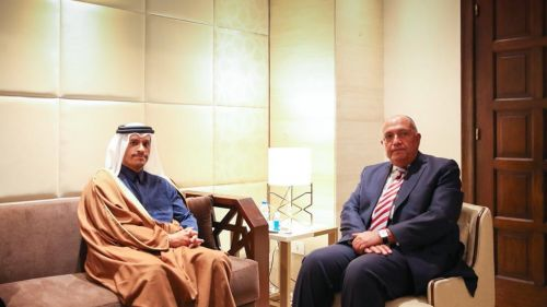 Photo of نائب رئيس مجلس الوزراء وزير الخارجية يجتمع مع وزير الخارجية المصري